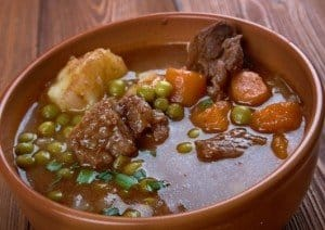 Beef Stew with Peas