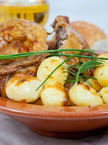 chicken and potato casserole