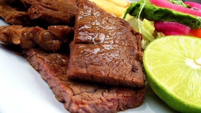 Easy marinated steaks