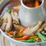 how to make chicken feet soup