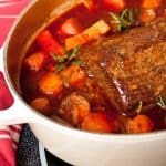 The Best Pot Roast Ever with Carrots and Caramelized Onions