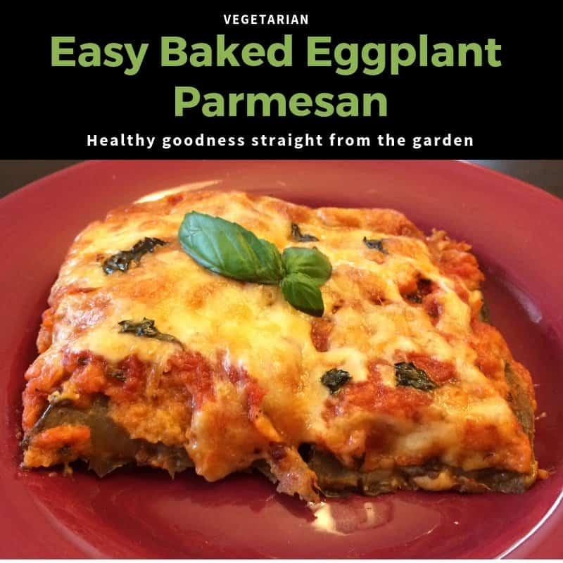 Recipe: Easy Baked Eggplant Parmesan - Featured Image