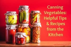 homemade canned vegetables