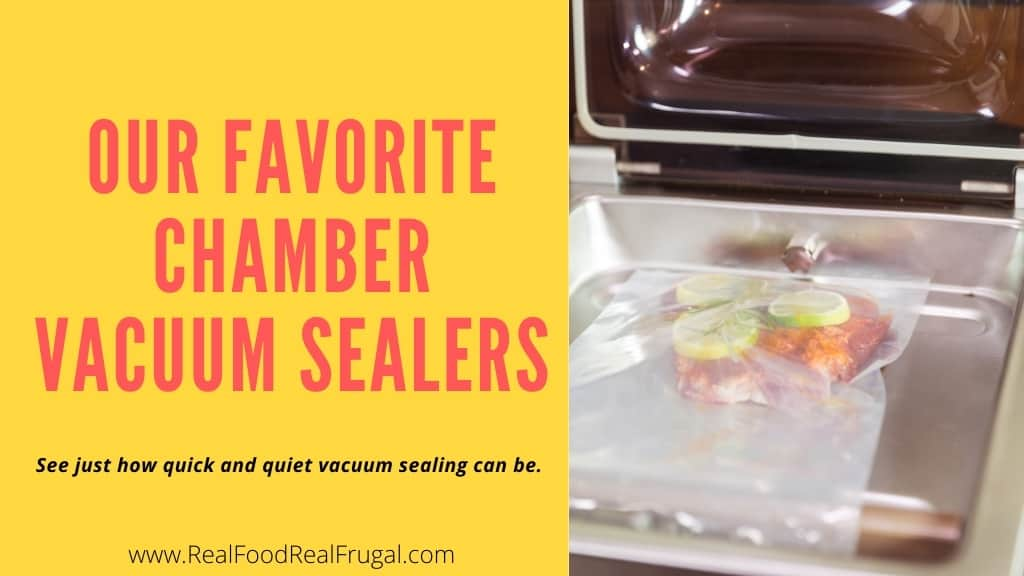 Our Favorite Chamber Vacuum Sealers - See just how quick and quiet vacuum sealine can be