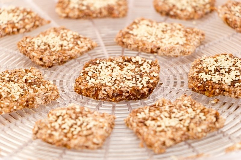 dehydrated vegan cookies