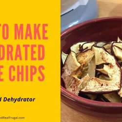 How To Dehydrate Apples In The Food Dehydrator – Step By Step